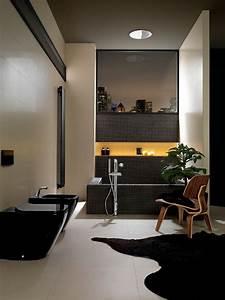 Bad Luxus Design : luxus bad design ideen fu matte schwarze toilette bidet mosaik wanne badezimmer ~ Sanjose-hotels-ca.com Haus und Dekorationen