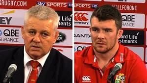 New Zealand vs Lions - First Test - Warren Gatland & Peter ...