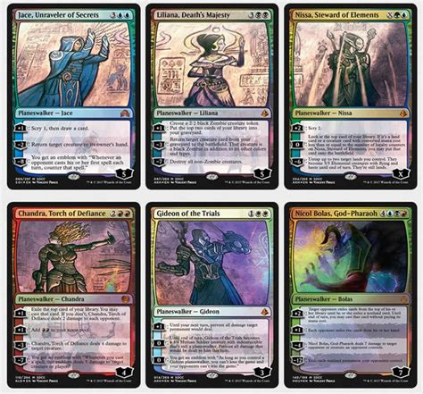 Magic The Gathering Premade Decks 2017 by Magic The Gathering Mtg Planeswalker Promo Set Exclusive