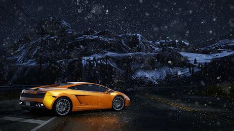 picture   speed lamborghini gallardo gold color
