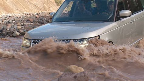 ranger rover wading youtube