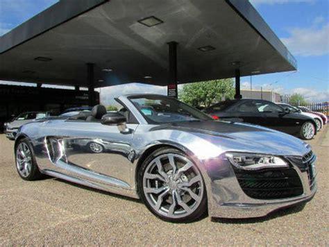 Elton John Aids Foundation Chrome Audi R8 V10