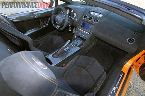 Lamborghini Gallardo Lp 570 4 Spyder Performante Interior