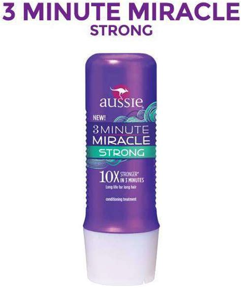 Amazon.com : Aussie 3 Minute Miracle Strong Conditioning