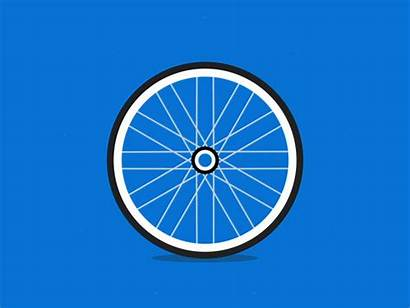 Wheel Animation Graph Turning Bicycle Chart Dribbble