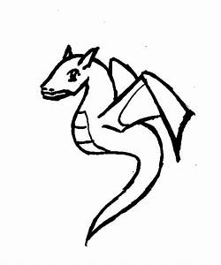 Chinese Dragon Outline - Cliparts.co