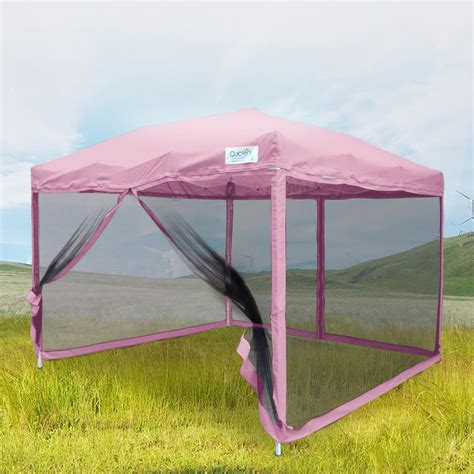 quictent xx pop  canopy  netting screen house mesh sides  sizes ebay