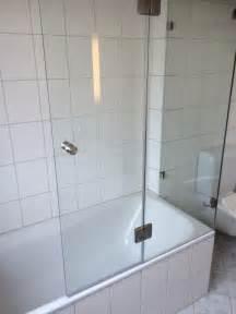 Duschwand Für Badewannen by Duschwand Als Badewannenaufsatz Nach Ma 223 Glasprofi24