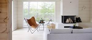 Contemporary Scandinavian Style Log Homes