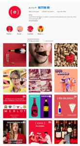 feed instagram  vino
