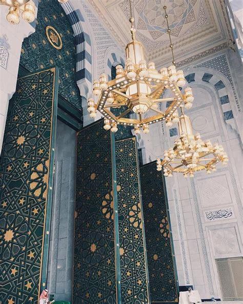 pin on masjid al nabawi medina