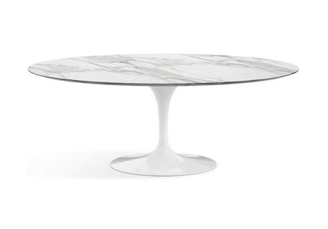 Eero Saarinen Tisch by Saarinen Oval Tisch Aus Marmor Knoll Milia Shop