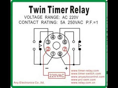 timer relay timer switch com youtube
