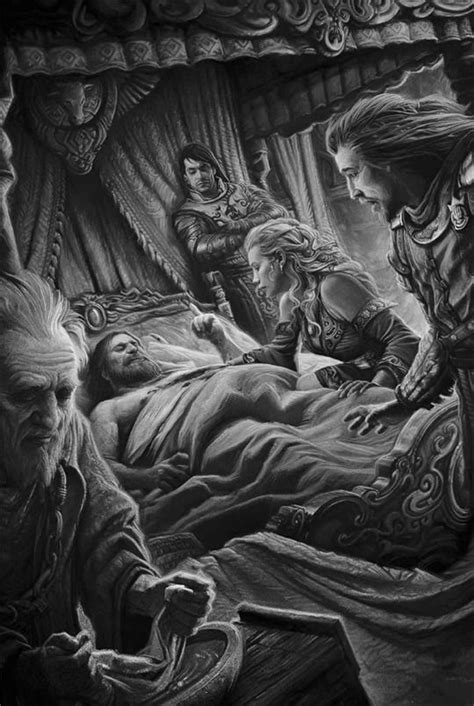 "asoiaf art — A Game of Thrones: The Illustrated Edition: ""The... in 2019 