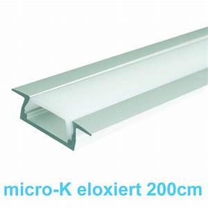 Led Profil 2m : led profile micro k 2m aluminiumprofil eloxiert 23 19 ~ Eleganceandgraceweddings.com Haus und Dekorationen