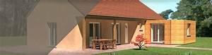 kit habitat a dijon 21 o extensions d39habitat ossature With cout pour agrandir sa maison