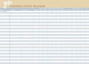 wedding guest list spreadsheet wedding guest list worksheet
