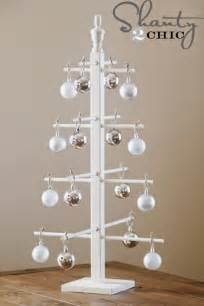 blue gallery diy ornament display tree