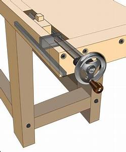 Benchcrafted™ Tail Vise Hardware - Lee Valley Tools