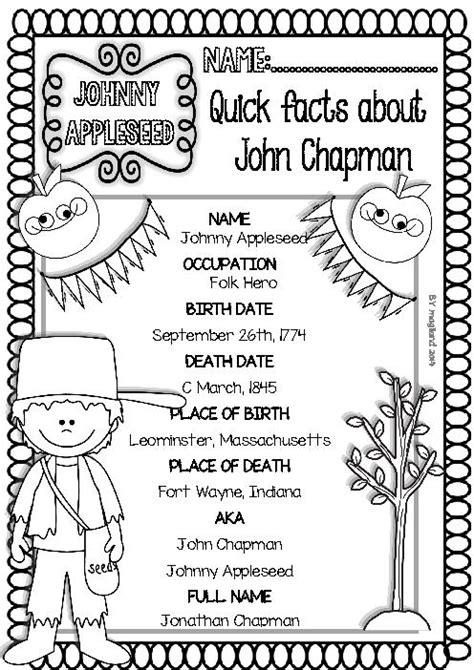 johnny appleseed worksheets for 2nd grade johnny appleseed worksheets for kindergarten worksheets