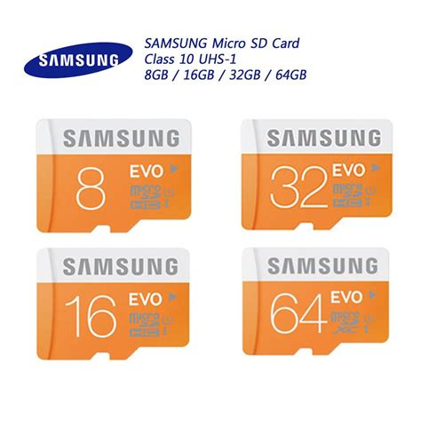 Samsung Evo Micro Sd Class 10 Memory (end 2112017 815 Pm
