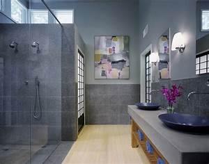 Blue and grey bathroom ideas for Blue and gray bathroom designs
