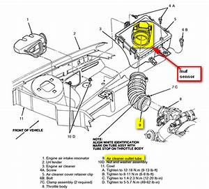 Where Is The Mass Airflow Sensor  Vacuum And Air Intake
