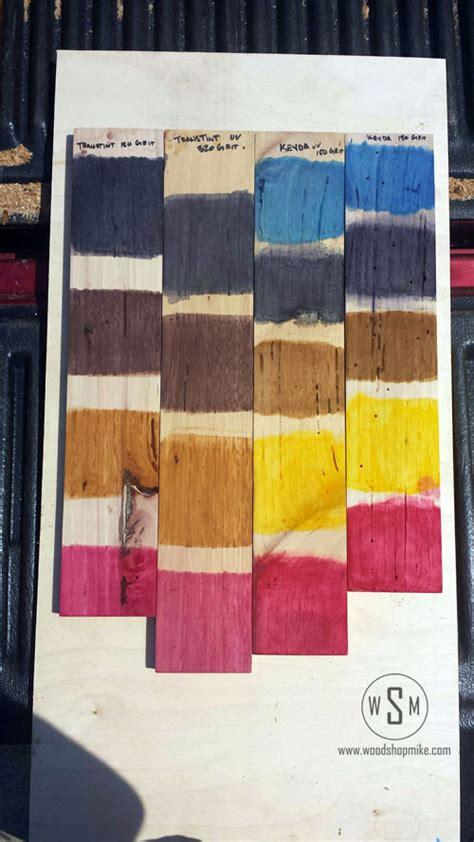 keda wood dye transtint   review woodshop mike