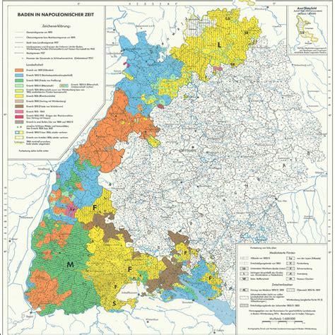 grenze baden württemberg historischer atlas baden w 252 rttemberg leo bw