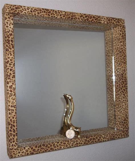 leopard print vanity mirror girls bedroom bathroom wall