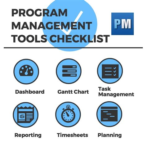 program management best program management tools for managers