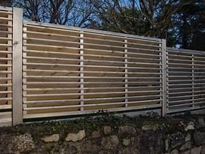 Cloture Jardin Bois : ma cloture bois toute de branches faites ~ Premium-room.com Idées de Décoration