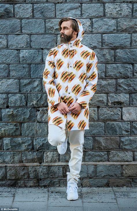 mcdonalds sweater mcdonald 39 s unveils fashion range on the 39 big mac shop