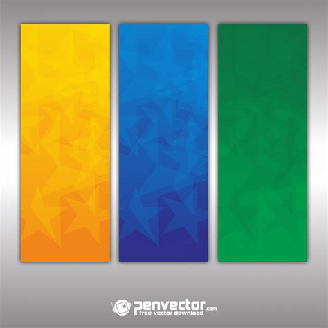 set  banner background abstract  vector