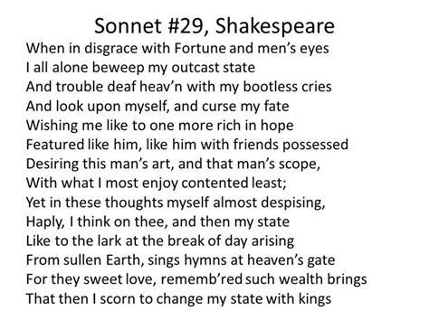 sonnet  shakespeare sonnets