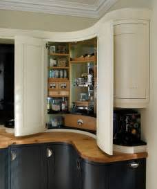 bespoke corner pantry