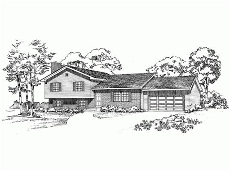 tri level house plans tri level house plan cool houses big and small