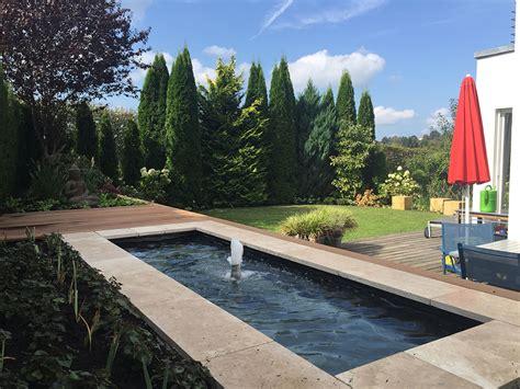 Moderne Gärten Mit Wasserbecken by Referenzen Slink Ideen Mit Wasser