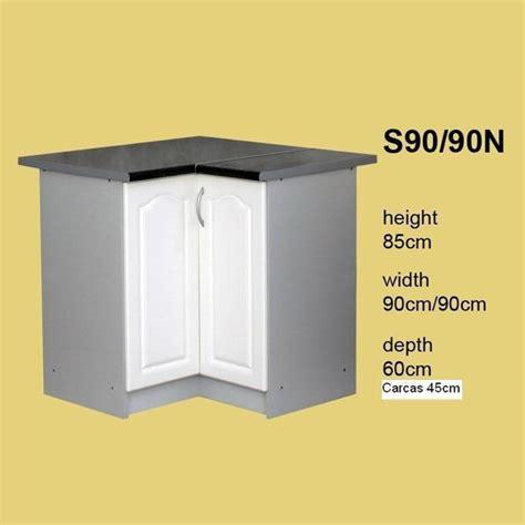 meuble cuisine 90 cm soldes meuble de cuisine en coin 2 portes 90 cm élément
