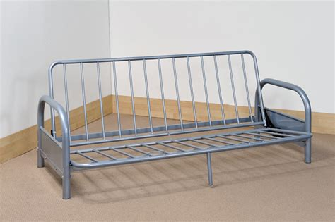 Metal Frame Futon Sofa Bed by 3 Seater Sofa Bed Futon Converts To Bed Metal