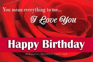 Love Birthday Messages - 365greetings.com