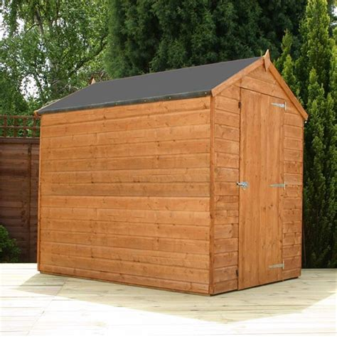 Tongue And Groove Boards For Sheds by 7 X 5 Windowless Tongue And Groove Apex Shed With Single