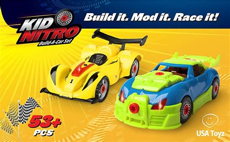 Build Your Own Car Build Your Own Race Car Toy Build A
