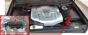 Fuse Box Diagram Lexus Gx470  J120  2002