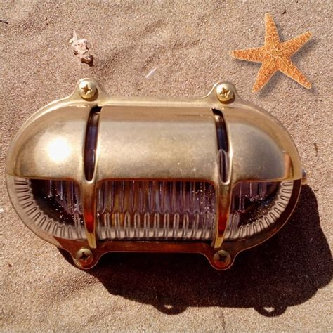nautical cast brass step light wall light waterproof
