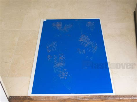 Mat Floor Protection by Sticky Mats New