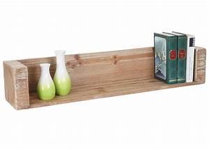 Küchen Wandregal Holz : wandregal h ngeregal b cherregal tanne holz rustikal massiv 120cm ~ Frokenaadalensverden.com Haus und Dekorationen