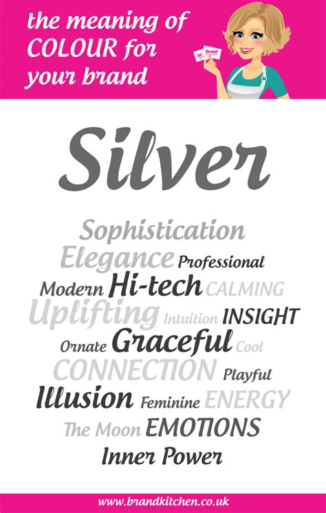 The Meaning Of The Colour Silver For Your Brand Brand