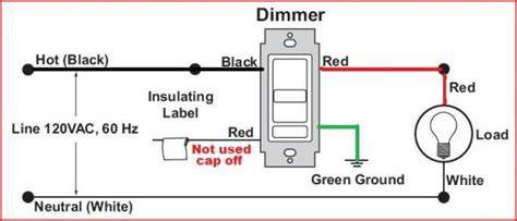 Replacing Single Pole Light Switch With Dimmer