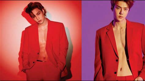 Exo's Kai And Sehun Expose Their Sexy Abs For 'love Shot